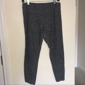 Express One Eleven SuperSoft Gray Ankle Leggings